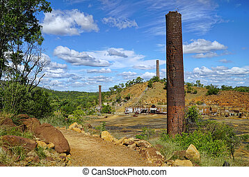 Historic Chillagoe smelter