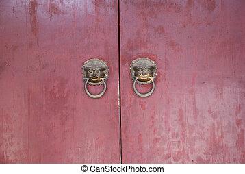 historic Chinese door