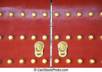 historic Chinese gate