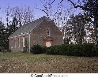 Historic Church - Historic church in the country