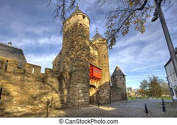 Historic City Gate Maastricht - Historical city gate ...