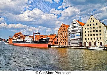 historic city of Gdansk, Poland