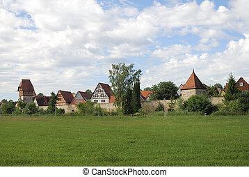 Historic city of Dinkelsb?hl (Franconia, Germany)