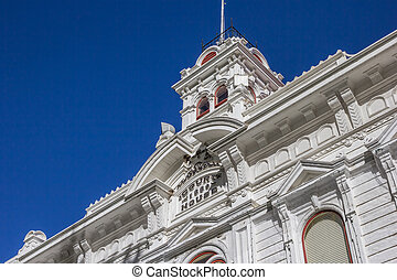 Historic courthouse at main street Bridgeport