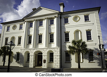 Historic Courthouse in Charleston, South Carolina.