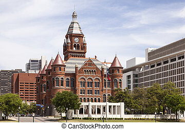 Historic Courthouse in Dallas, USA