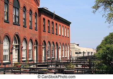 Historic district in Savannah
