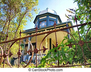 Historic dome roofed home