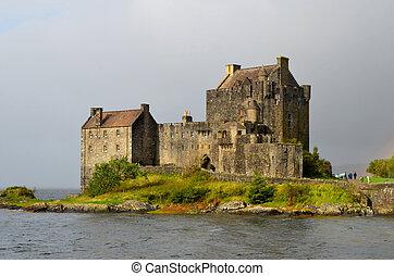 Historic Eilean Donan Castle in Scotland