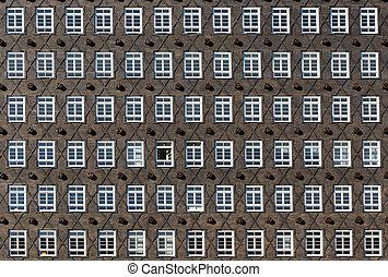 Historic facade in Hamburg