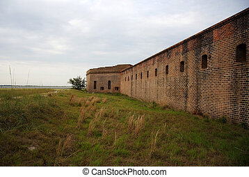 Historic Fort Clinch on Amelia Island, Florida