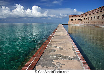 Fort Jefferson - Historic Fort Jefferson, Dry Tortugas...