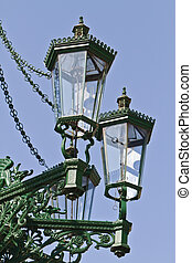 Historic gas lamp-post in Prague - Historic decorative gas ...