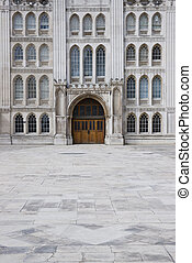 Historic Guildhall - Entrance to the Guildhall in the City ...