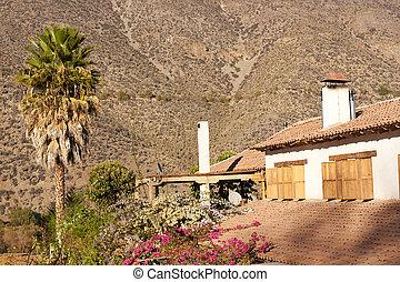 Historic Hacienda - Spanish style architecture of the...