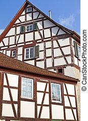 Historic half-timbered house, Germany