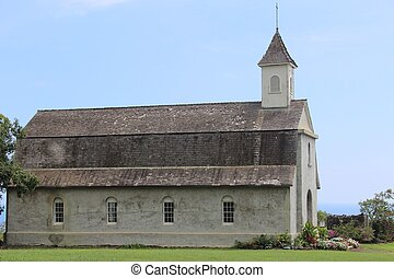 Historic Hawaii Church - Historic St. Joseph Catholic church...