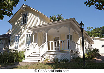 Historic Home of Local Author in Mankato - Famed local...