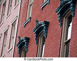Historic homes in Georgetown Washington DC