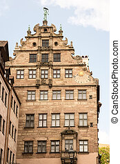 Historic house facade