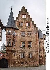 Historic house in Budingen, Germany