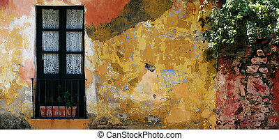 Historic house in Colonia, Uruguay - Old rustic house in...