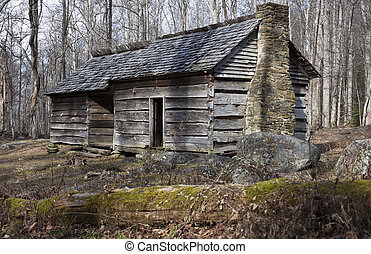 Historic house in Smoky Mountains