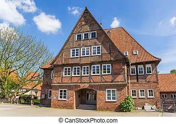 Historic house in the old town of Luneburg