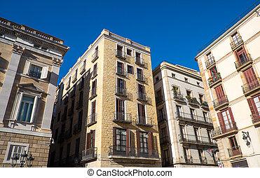 Historic houses in Barcelona
