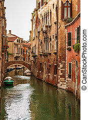 Historic houses of the Grand Canal in Venice, Italy