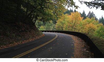 Historic Hwy 30 in Portland Oregon