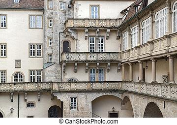 historic inner courtyard