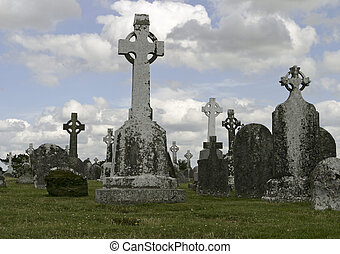 Historic Ireland Cemetery - A historic old cemetery in...