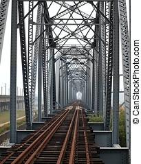 Historic Iron Railway Bridge