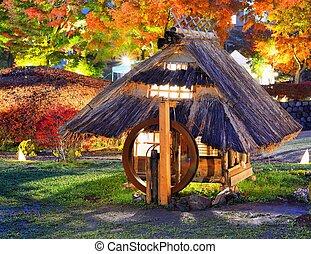 Historic Japanese Huts