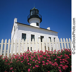 Historic Light House in San Diego