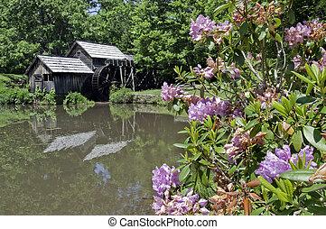 Mabry Mill - Historic Mabry Mill is a beautiful working...