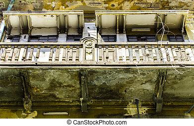 Historic Masonry balcony