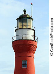 Lighthouse, located in historic Mayport Florida, near Jacksonville