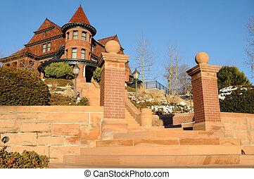 Historic McCune Manison in Salt Lake City, Utah