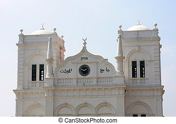 Historic mosque - Roof of a historic mosque in Sri Lanka