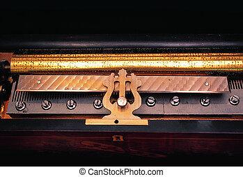 Historic music box