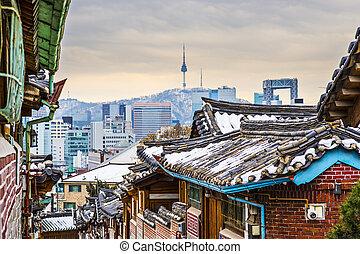 Historic Neighborhood of Seoul