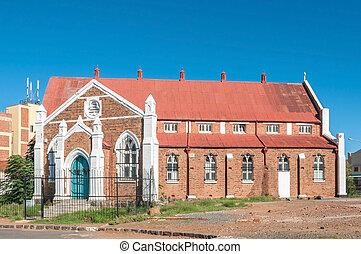 Historic old church in Kimberley