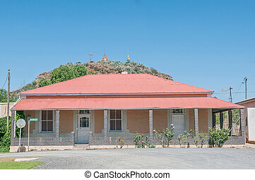 Historic old house in Hanover, South Africa