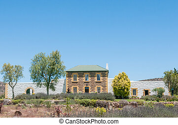 Historic old jail in Willowmore, South Africa