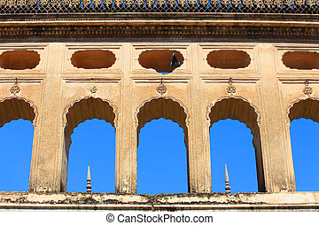 Historic Paigah tombs architecture in Hyderabad India