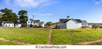 Historic Pierce Point Ranch, a former dairy ranch in ...