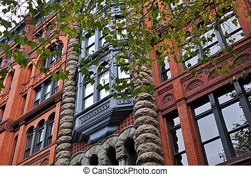 Historic Pioneer Building in Seattle
