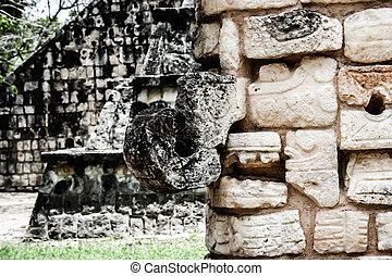 Historic place in Chichen Itza Mexico